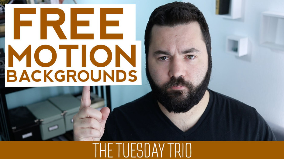 3 Free Motion Background Resources