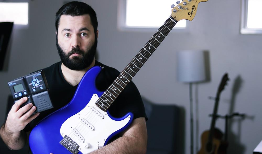 budget worship electric guitar