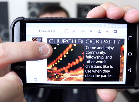 3 Uses for an Old Smartphone [For Churches]