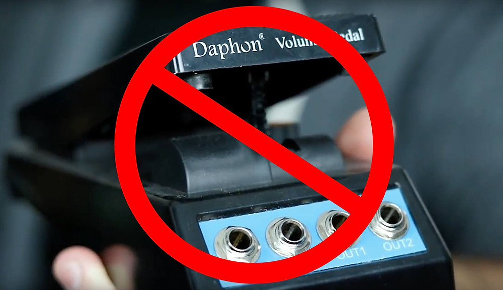 Cheap volume pedal