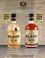 Blade Gin and Rusty Blade win international gold medals in London