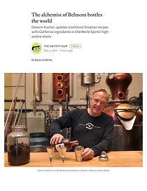 oldworldspirits distillery #bladegin #rustyblade #kuchan