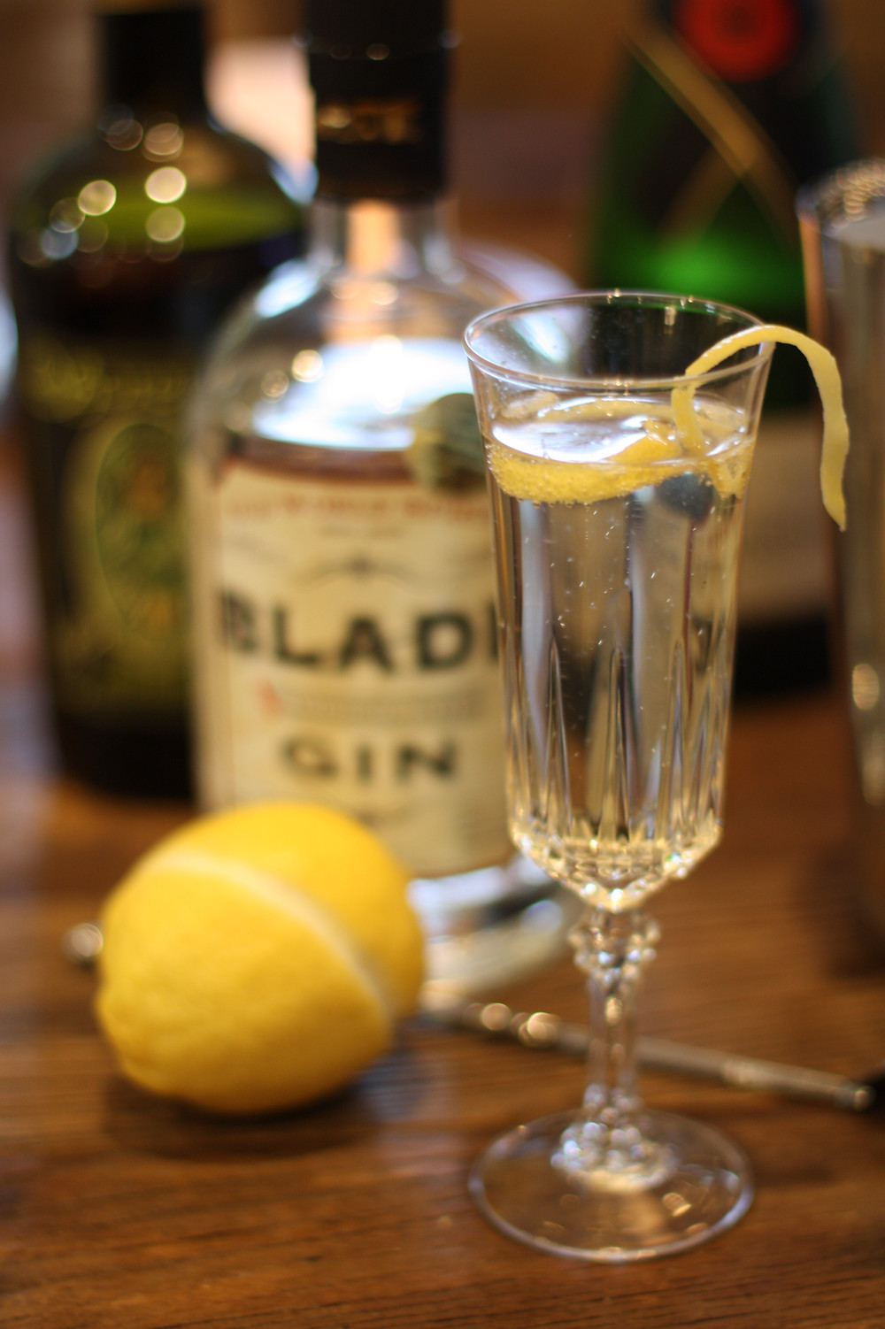 Blade Gin French 75 Cocktail