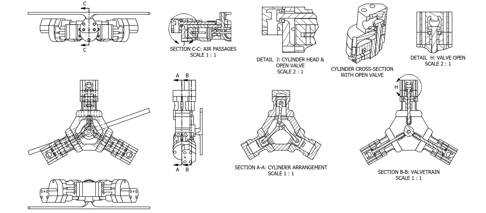 Radial Engine Diagram - Wiring Diagrams on