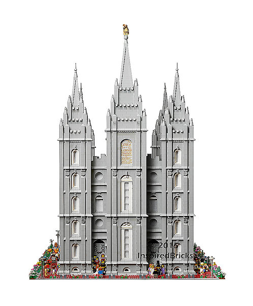 Full Temple Front - 8x10