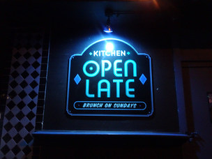 Kitchen's open late every night of the week!