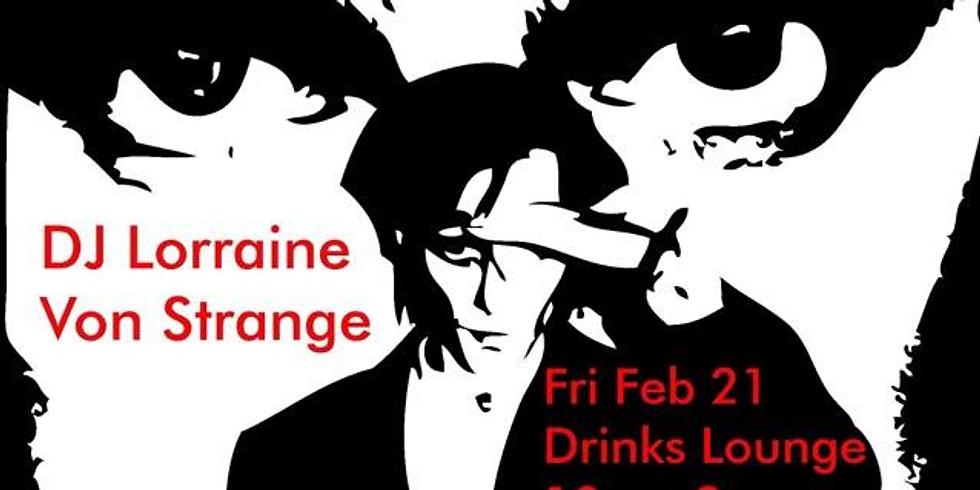 Vinyl Night: Dark Entries w/ DJ Lorraine Von Strange