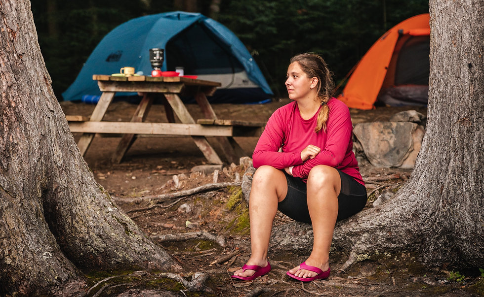 NuuSol footwear brand campaign outdoor algonquin park camping photoshoot www.mfvisuals.ca