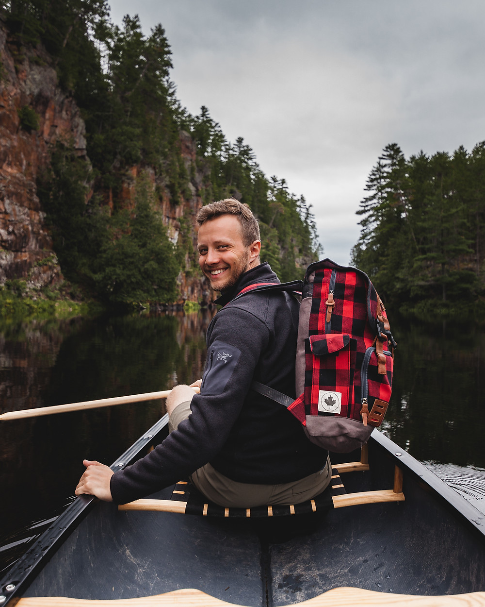 canoeing camping backcountry Algonquin lifestyle photography michael frymus mfvisuals.ca