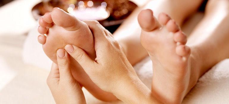 Voet -en onderbeenmassage