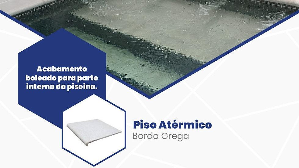Borda Grega - Borda para piscina atérmica 50 x 50 cm