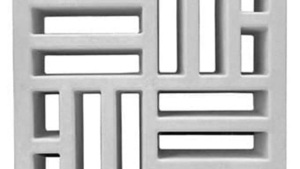 Cobogó - Elementos vazados -  Mod. Taco Chinês