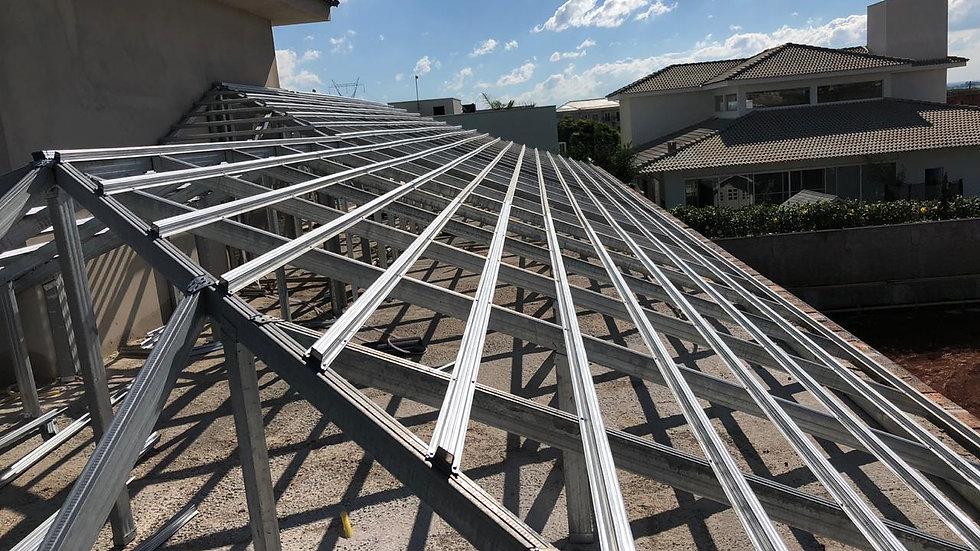 Perfis Galvanizados para telhado