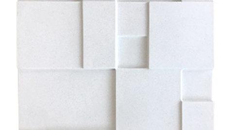 Revestimentos de parede cimentícios 3D Mosaico
