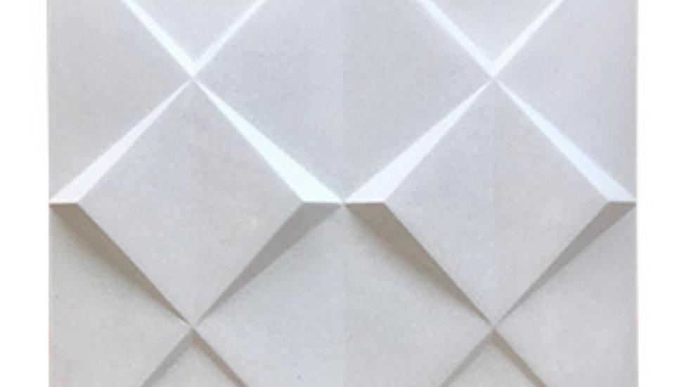 Revestimentos de parede cimentícios 3D Inverso