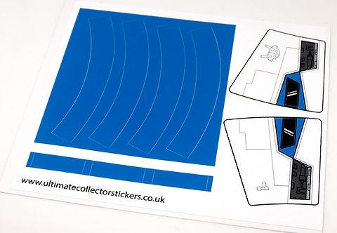 Lego Star Wars Sticker Sheet for Tantive 4 75244 (Blue)