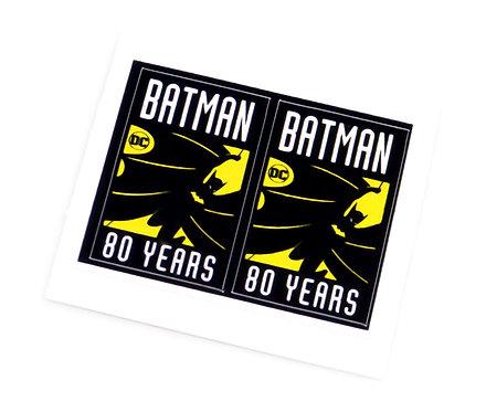 Lego MOC Sticker Sheet for Batman 80 Years (pair)