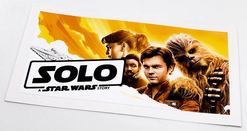 Star Wars Sticker for Solo