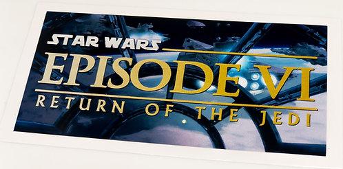 Star Wars Sticker for Episode VI