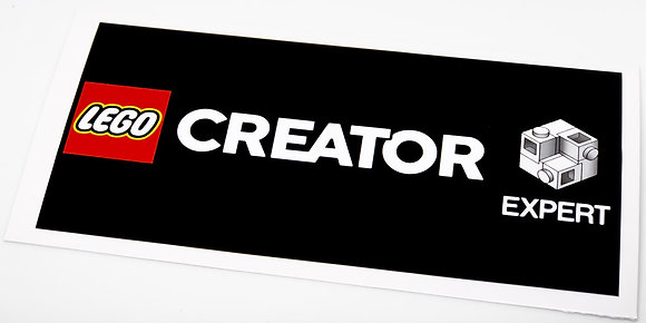 Lego Display Sticker for Creator Series