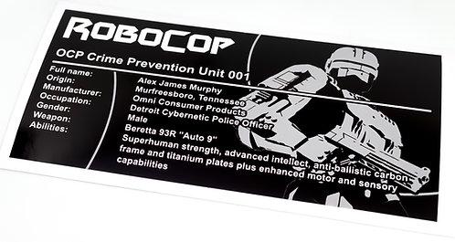 Lego UCS / MOC Sticker for Arvo Brothers RoboCop