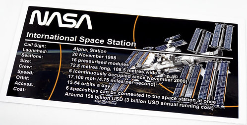 Lego Creator UCS Sticker for International Space Station 21321