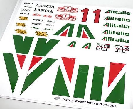 Lego Sticker Sheet for James JT's Lancia Stratos (MOC-4788) by Rishab
