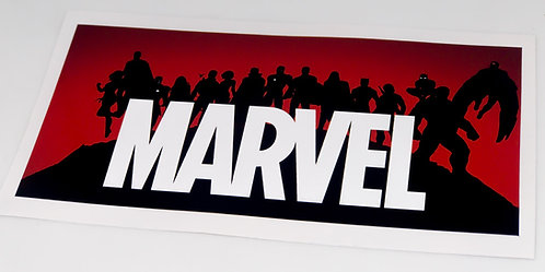 UCS Display Sticker for Marvel