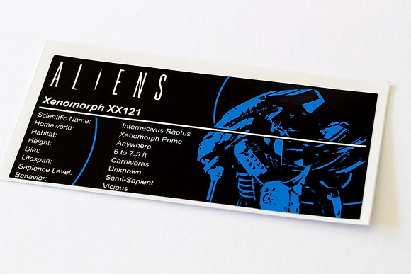 Lego UCS / MOC Sticker for Arvo Brothers Alien