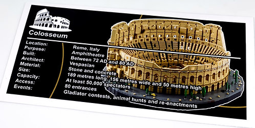 Lego Creator UCS Sticker for Colosseum 10276