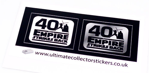 Lego Star Wars UCS / MOC Stickers for 40th Anniversary (ESB, 75294, 77904)