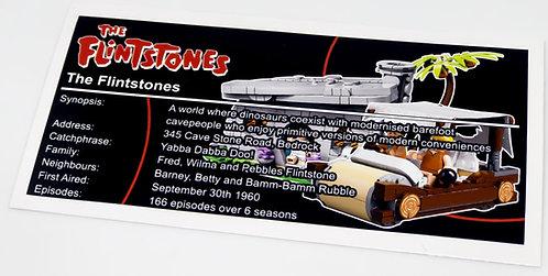 Lego Creator UCS Sticker for The Flintstones 21316