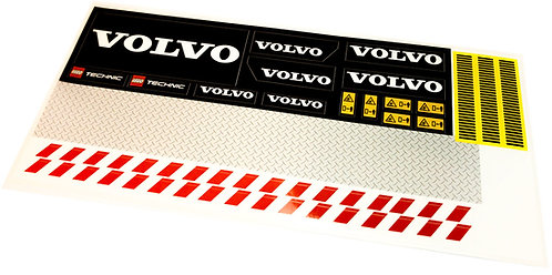 Lego UCS / MOC Sticker Sheet for Volvo