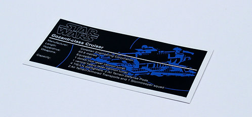 Lego Star Wars UCS Sticker for Imperial Assault Carrier 75106