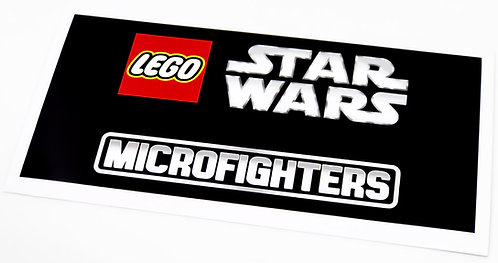 Lego Display Sticker for Star Wars Microfighters