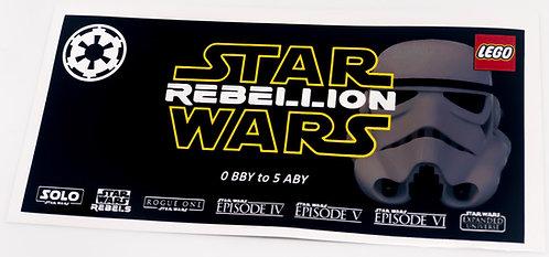 Lego Star Wars UCS Sticker for Rebellion / Empire