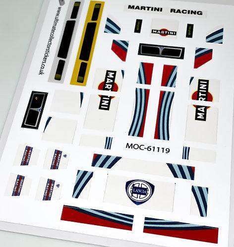 Lego Sticker Sheet for Lancia Delta HF Integrale (MOC-61119) by PanDanBrick