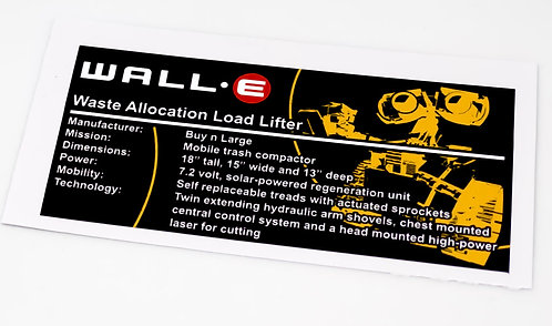 Lego Creator UCS Sticker for Wall-E 21303 (small)