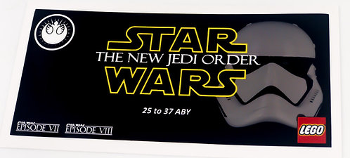 Lego Star Wars UCS Sticker for The New Order