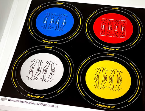 Lego Technic UCS / MOC Wheel Stickers (Set 3)