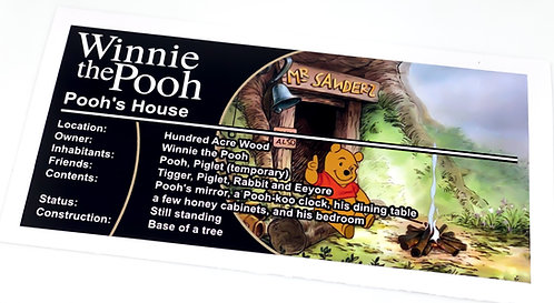Lego Creator UCS Sticker for Winnie the Pooh 21326