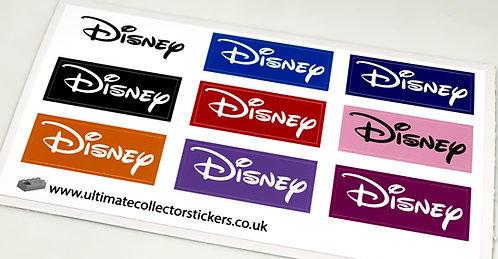 Lego Disney Sticker Sheet for tiles