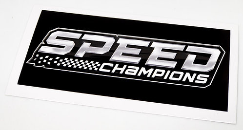 Lego Display Sticker for Speed Champions