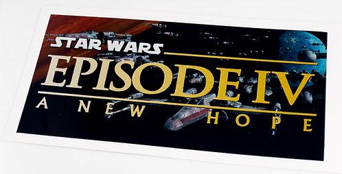 Star Wars Sticker for Episode IV