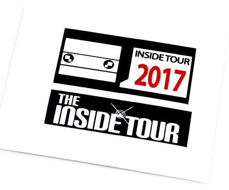 Lego Sticker Set for BrickHeadz Inside Tour 2017