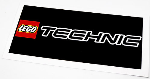 Lego Display Sticker for Lego Technic Series