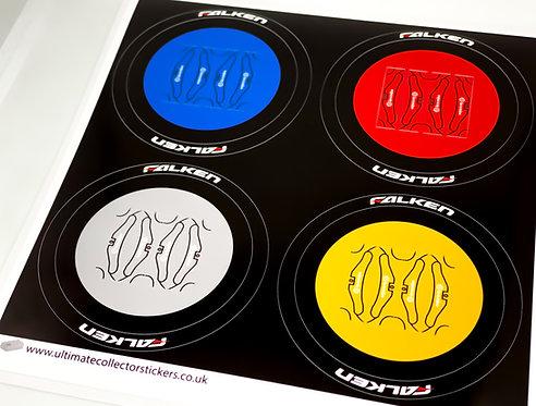 Lego Technic UCS / MOC Wheel Stickers (Set 5)