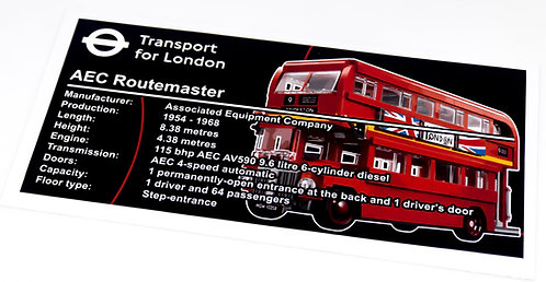 Lego Creator UCS Sticker for London Bus 10258