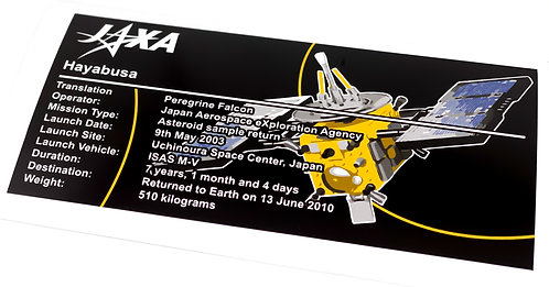 Lego Creator UCS Sticker for Hayabusa 21101