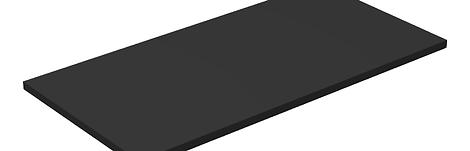 Lego UCS / MOC Sticker Plate (90498) 8x16 - Black (Genuine Lego)
